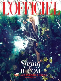 Fernanda Ly Is In Full Bloom For L'officiel Singapore Cover Story 1
