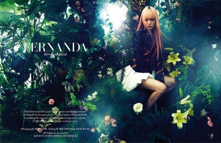 Fernanda Ly Is In Full Bloom For L'officiel Singapore Cover Story 2